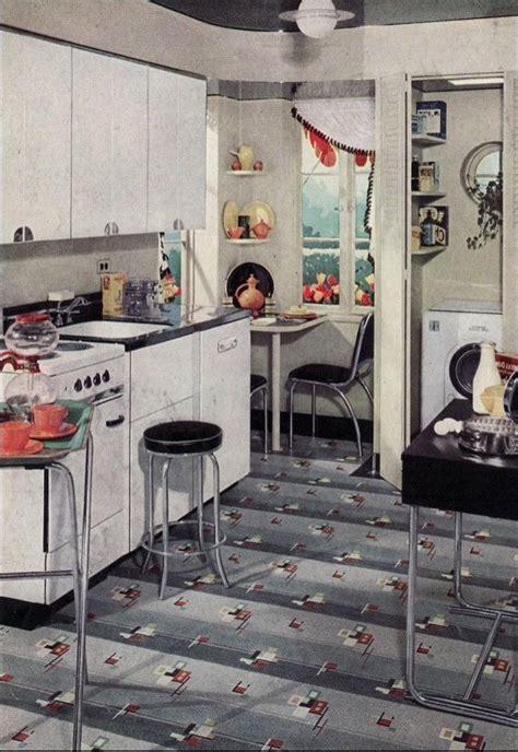 1938 kitchen ad for armstrong linoleum in black 1930 kitchen design photos