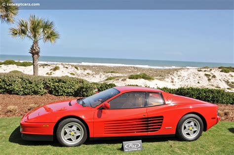2009 testarossa for sale auction results and data for 1991 testarossa