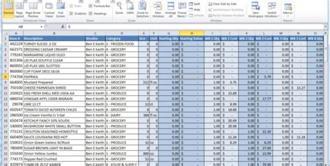 bar expenses spreadsheet spreadsheet downloa bar expenses