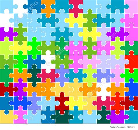 abstract jigsaw pattern abstract patterns jigsaw puzzle pattern stock