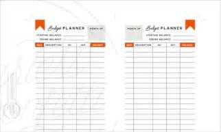 Daily Budget Template Daily Budget Planner Template 5 Free Psd Ai Eps