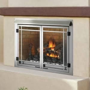 napoleon 65 000 btu outdoor gas fireplace gss42n