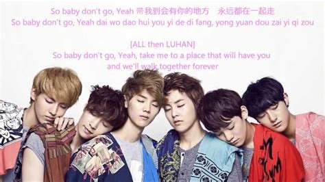 exo don t go dance tutorial exo m 蝴蝶少女 don t go butterfly girl lyrics chinese