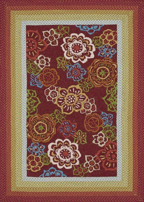 Indoor Outdoor Rugs 4x6 4x6 Loloi Rug Indoor Outdoor Zamora Hooked Braided Polypropylene Ebay