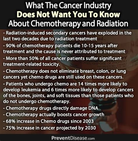 why are so many celebrities dying after chemotherapy 97 percent of the time chemotherapy does not work and