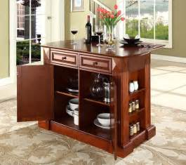 buy kitchen island w granite top