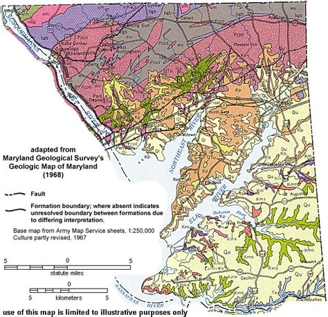 maryland formation map geologic maps of maryland cecil county