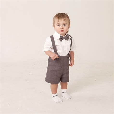 wedding attire for 1 year boy boy linen suit ring bearer baby boy clothes set of