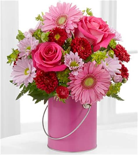 color your day with the color your day with happiness bouquet by ftd 174 vase