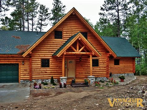 Green Building Floor Plans by Gallery Half Log Voyageur Log Homes