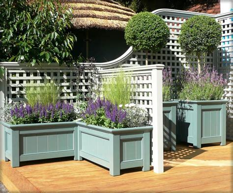 Small Trellis Planter by The 25 Best Small Front Gardens Ideas On