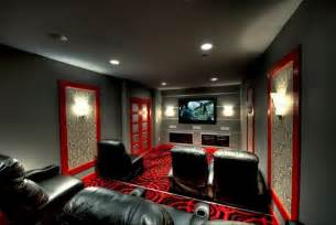 room theater mclean theatre room seating contemporary home theater other by synergy design