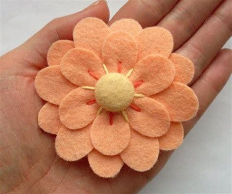 Blumen Aus Filz Basteln 3046 by Filzblumen Selber Machen Kreative Bastelideen Aus Filz