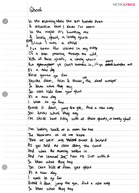 best days of lyrics check out american authors haunting handwritten lyrics to