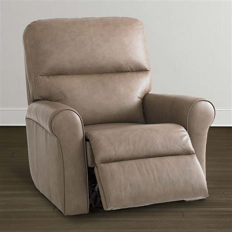 in a recliner leather sable recliner