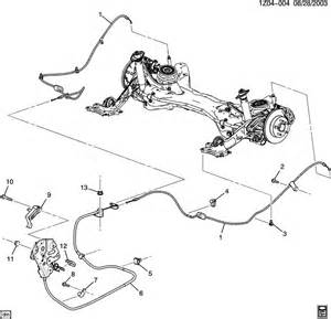 Service Brake System Chevy Impala A Parking Brake System Auto Parts Diagrams