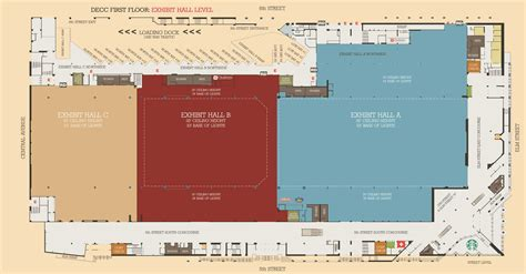 washington convention center floor plan floor plans iaff 52nd convention