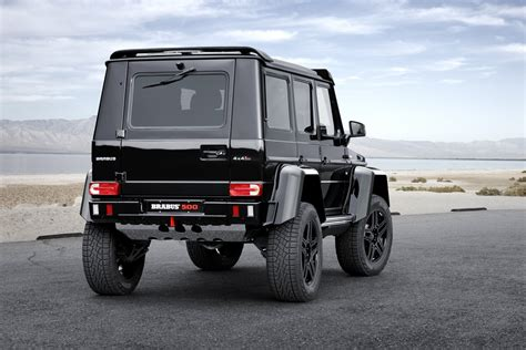 brabus goes road with the mercedes g 500 4x4 178