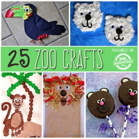 zoo animal crafts for 25 zoo animal crafts and recipes zoo animal crafts