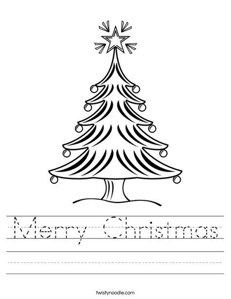 printable christmas activities for preschoolers merry christmas worksheet twisty noodle
