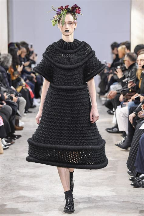 Fashion Week Noir by Noir Kei Ninomiya Fall Winter 2018 S Collection