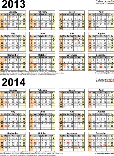 2014 new year calendar malaysia 2014 calendar with federal holidays excel pdf word html