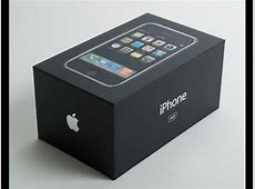 iPhone 2G 8GB Unboxing - YouTube Iphone 2g Box