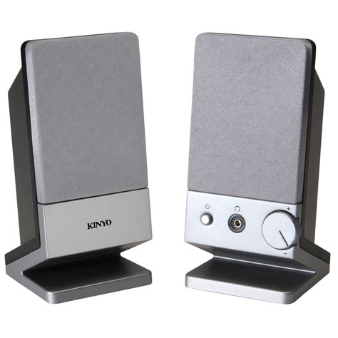 kinyo pa 217 2 0 powered computer speakers