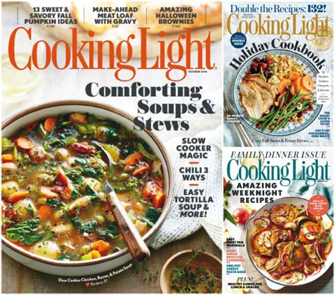 cooking light diet coupon code subscribe to 2 years of cooking light magazine for 14 99