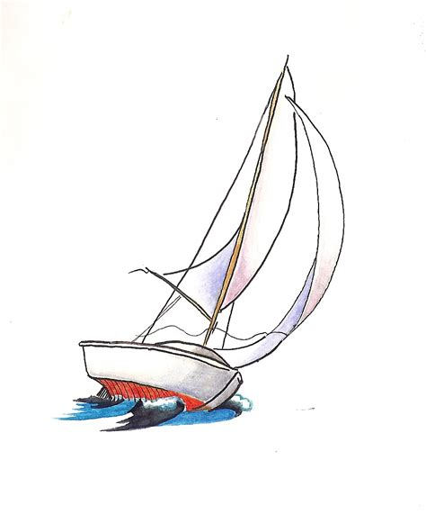 dessin bateau minimaliste we cannot change the wind but we can adjust the sails