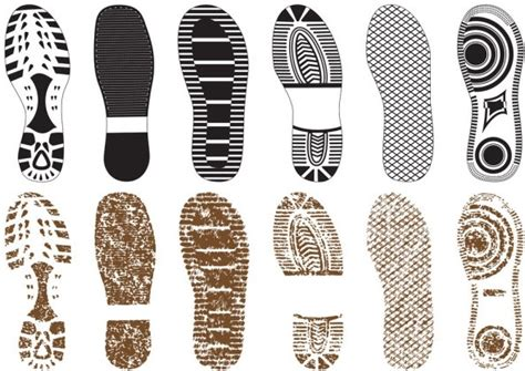 Sepatu Flat Ps 02 a variety of shoe print 02 vector free vector in