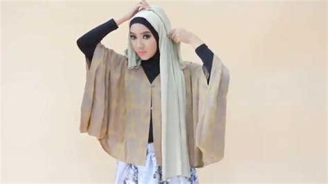 tutorial hijab segi empat gliter hijab tutorial segi empat party glitter youtube