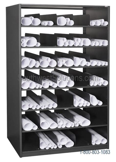 rolled plan rack innovative storage solutions