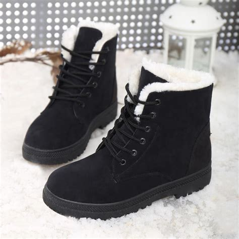 fashionable snow boots 2016 boots fashion snow winter boots shoes fur