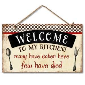 new wall sign welcome to my kitchen