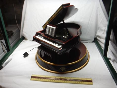 teddy takes requests with baby grand piano grand piano box shop collectibles daily