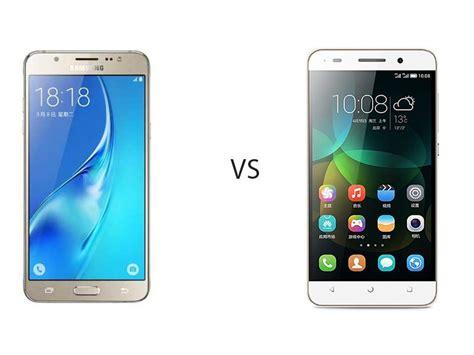 perbandingan bagus mana hp samsung galaxy j5 vs huawei honor 4c segi harga kamera dan
