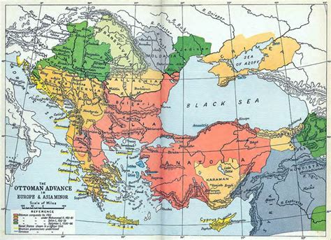 ottoman empire map 1566 the ottoman advance in europe and asia minor 1451 1566