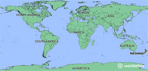 world map image new zealand where is new zealand where is new zealand located in