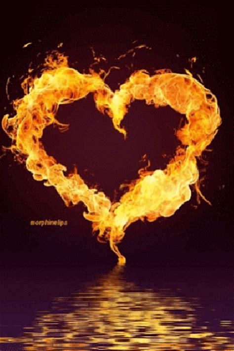 imágenes gif i love you imagenes animadas de corazones de fuego