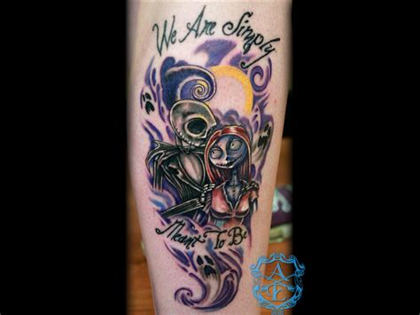 small nightmare before christmas tattoos 25 skellington tattoos