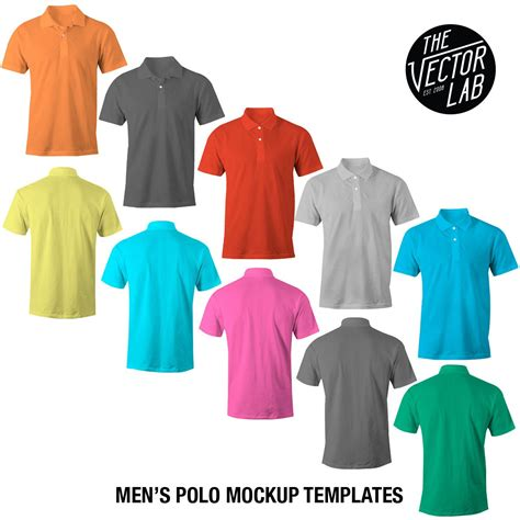 Polo Shirt Cisco Logo 1 Oceanseven all in one s apparel mockup templates bundle thevectorlab