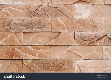 finish stone materials brown brick exterior and interior decoration building material for wall finishing stock