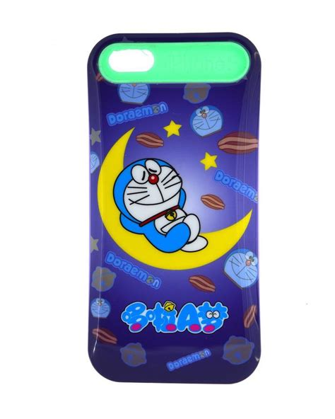 Doraemon And Cover For Iphone mobile cover for iphone 5 5s i glow glow sleepy