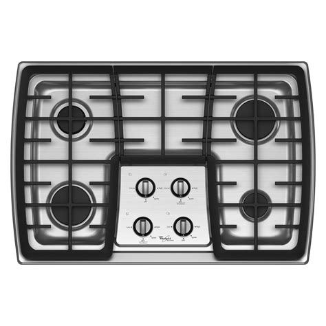 whirlpool gas cooktop 30 whirlpool gold g7cg3064xs 30 quot gas cooktop sears outlet