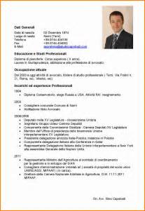 Resume Format Pdf Or Doc by 6 Latest Curriculum Vitae Format 2016 Ledger Paper