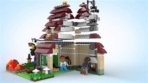 Lego 31038 Creator By Joobricks lego creator 31038 changing seasons lego 3d review