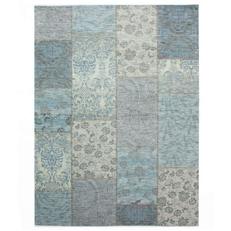Patchwork Floor Rugs - flair rugs manhattan chenille patchwork tapestry style