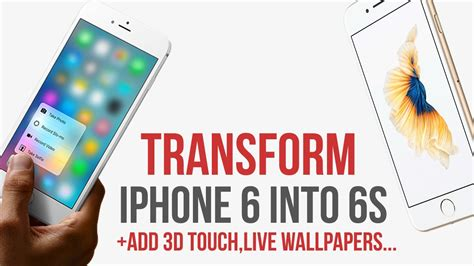 transform iphone    add  touch