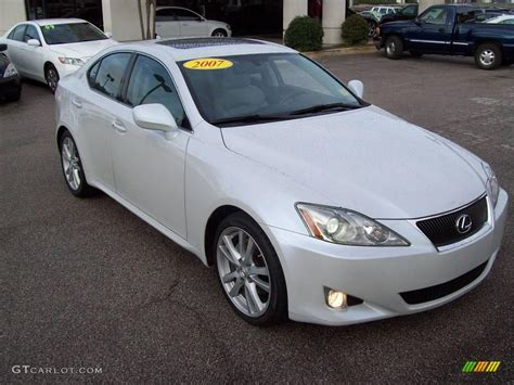 white lexus is 250 2007 is 250 gallery